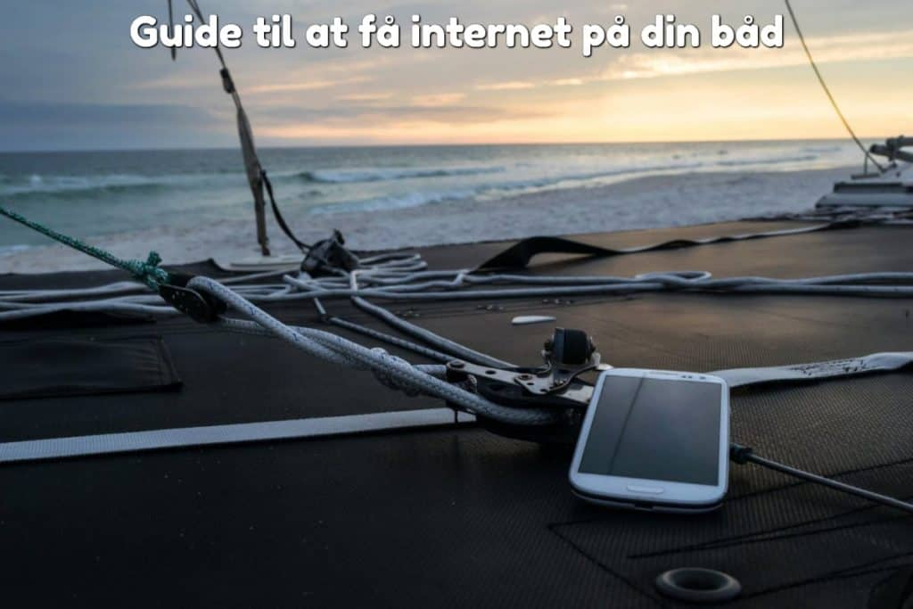 Guide til at få internet på din båd