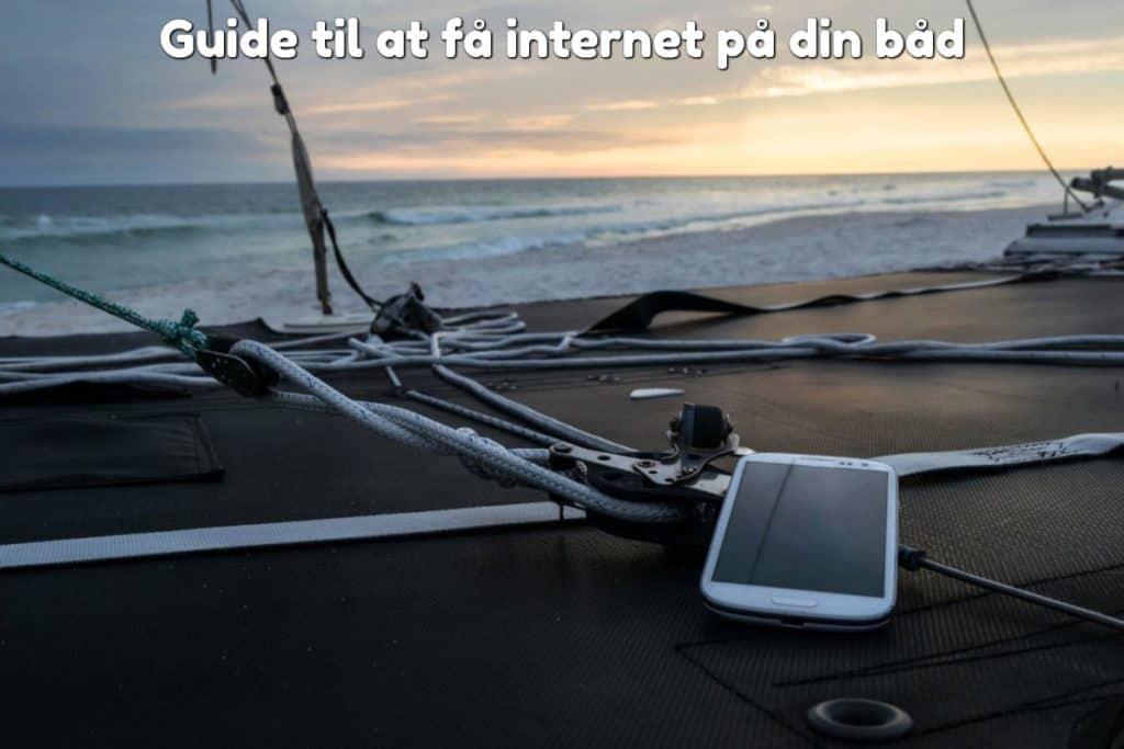 Guide til at få internet på din båd